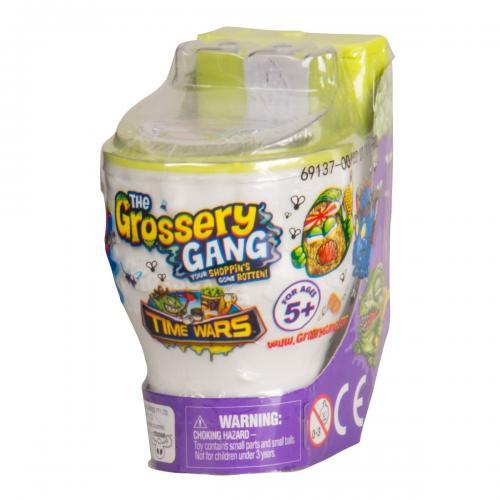 Set figurine Surpriza Grossery Gang - Time Wars - S5 - Toaleta - Figurine pentru copii -