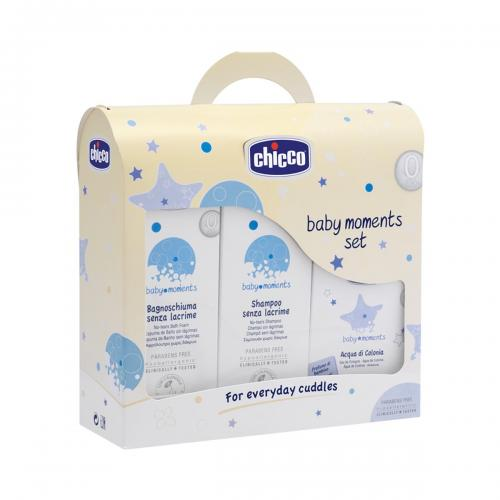 Set igiena personala Baby Moments For Everyday Chicco – 0 luni +
