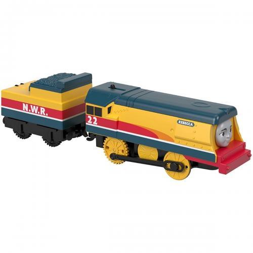 Set locomotiva si vagon Thomas & Friends Trackmaster - Rebecca GDV30 - Masinute electrice -