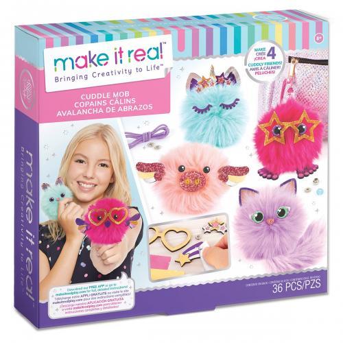 Set Make It Real - Creeaza propriul plush - Jocuri creative -