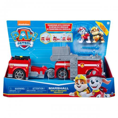 Set Masinuta cu figurine Paw Patrol Split Second Vehicle 20122546 - Masinute copii -