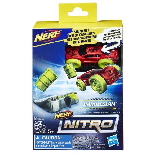 Set masinuta Nerf Nitro si rampa de cascadorii - Jucarii copii -