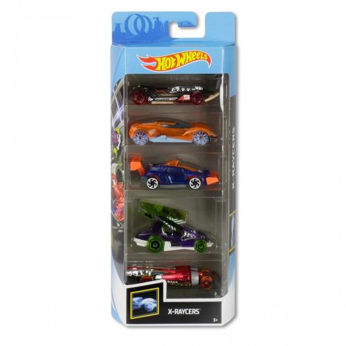 Set masinute Hot Wheels - X-Raycers GHP59 (5 modele) - Masinute copii -