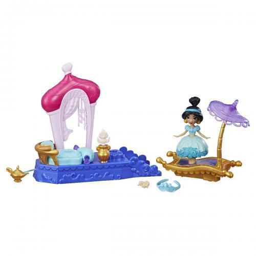 Set mini papusa cu miscari magice Jasmine Disney Princes - Papusi fetite -