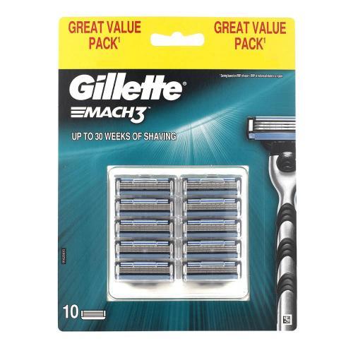 Set rezerve Gillette Mach3 - 10 buc - Ingrijire corporala - Produse pentru ten