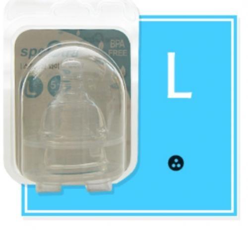 Set tetine din silicon-marimea L - Biberoane tetine -