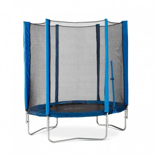 Set trambulina cu plasa de protectie Junior Blue 140 cm Plum - Jucarii de exterior - Trambuline copii