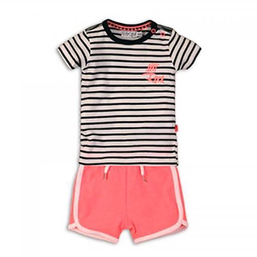 Set tricou si pantaloni scurti Dirkje - Imbracaminte copii - Tricouri
