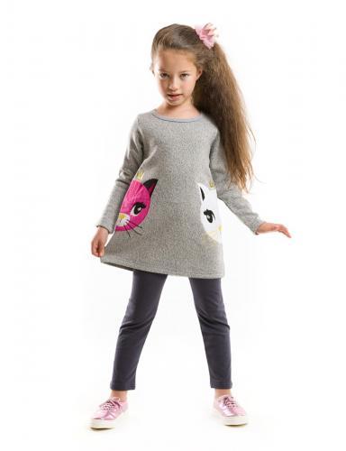 Set tunica si colanti Cats Denokids - Imbracaminte copii - Bluze corp