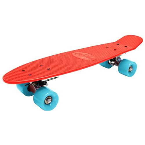 Skateboard Maxtar Chase - Rosu - Role copii -