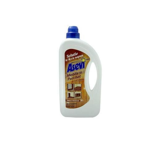 Solutie cu sapun Asevi pentru mobila si parchet - 950 ml - Home deco -