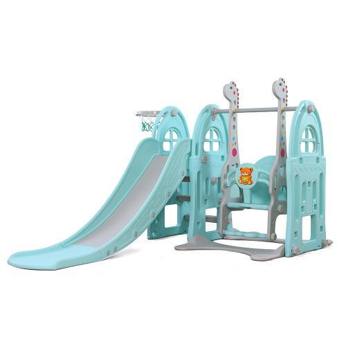 Spatiu de joaca 3 in 1 Nichiduta Garden Happy Kid Blue - Jucarii de exterior - Spatiu de joaca