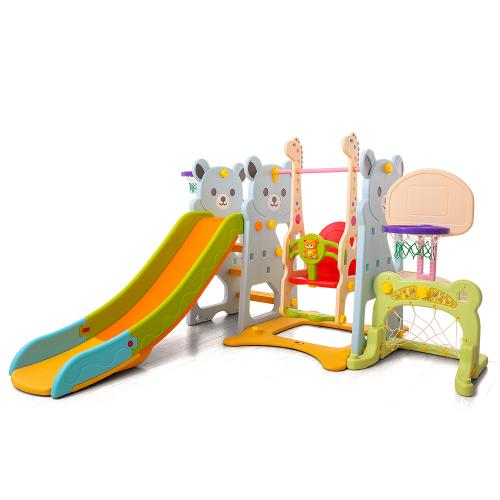 Spatiu de joaca 4 in 1 Nichiduta Garden Bear Blue - Jucarii de exterior - Spatiu de joaca