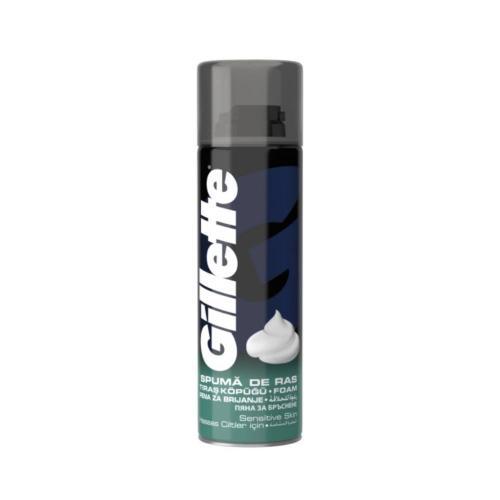 Spuma de ras Gillette Piele sensibila - 200 ml - Ingrijire corporala - Produse pentru ten