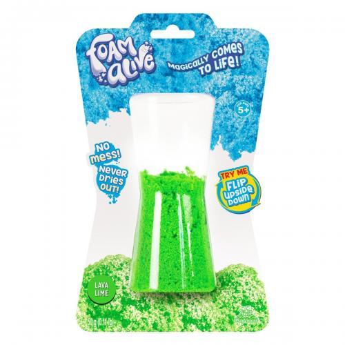 Spuma modelatoare Foam Alive - Verde - 50G - Seturi jucarii -