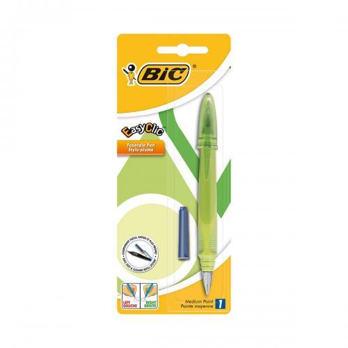 Stilou Standard Easy Clic Bic - Verde - Rechizite scolare -