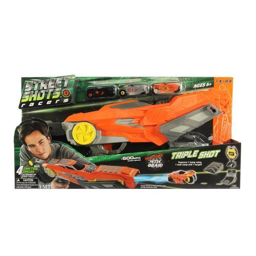 Street Shots - Triple Shot Blaster - Masinute copii -