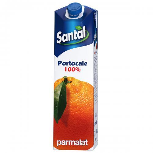 Suc natural de portocale Santal - 1 L - Alimentatia bebelusului -