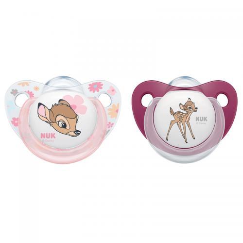Suzeta Nuk Disney Bambi Silicon M2 6-18 luni - Suzete si accesorii -