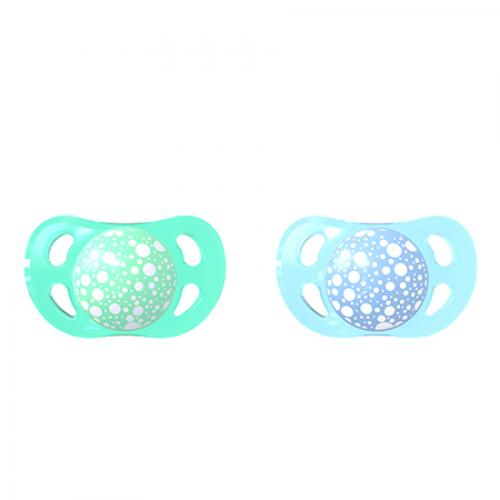 Suzete mini 0-6 luni pastel blue green Twistshake - Suzete si accesorii -