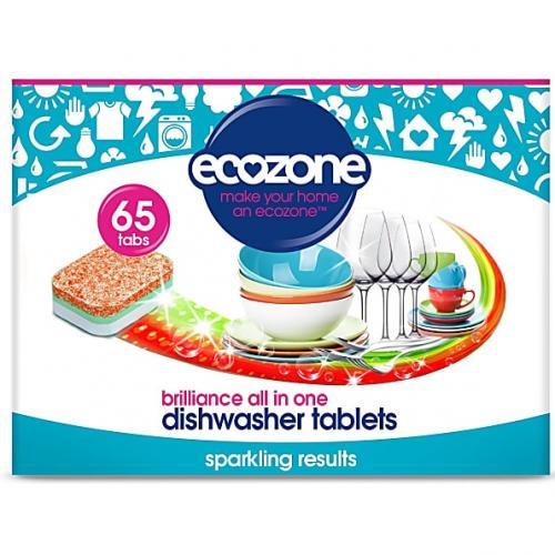 Tablete pentru masina de spalat vase 65 buc Ecozone - Biberoane tetine -