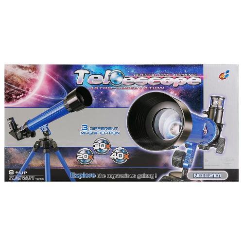 Telescop cu trepied Best Luck - 20x/30x/40x - Jocuri educative -