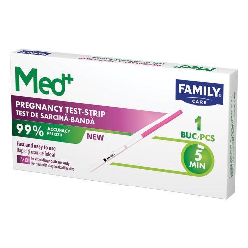 Test sarcina banda Family Med - 1 buc - Ingrijire corporala - Plasturi-absorbante-teste