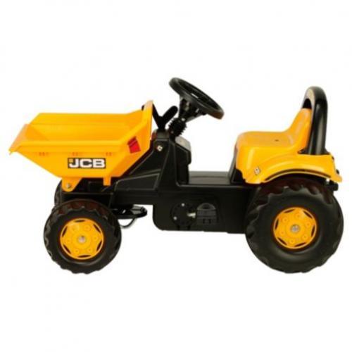 Tractor cu pedale Rolly Kid Dumper JCB - Masinute copii -