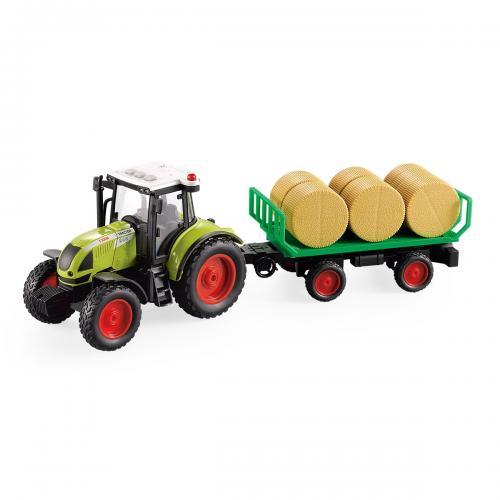 Tractor cu transport de baloturi Cool Machines - Masinute electrice -