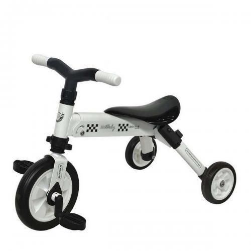 Tricicleta B-Trike DHS Baby - Alb - Triciclete copii -