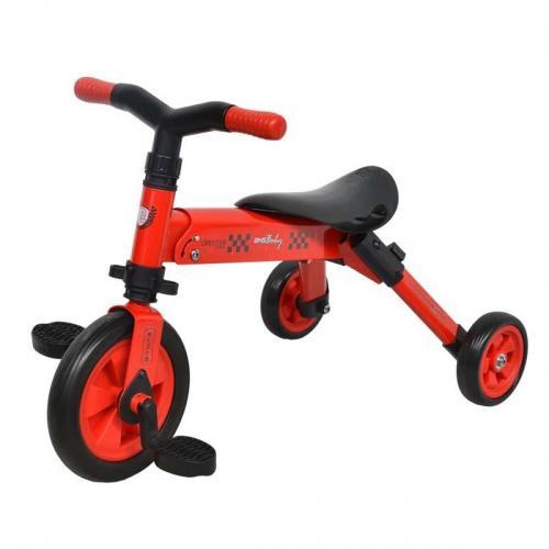 Tricicleta B-Trike DHS Baby - Rosu - Triciclete copii -