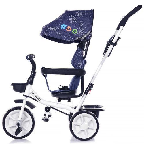 Tricicleta Chipolino Carretera navy - Triciclete copii -