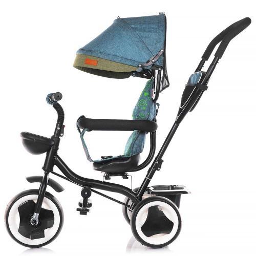 Tricicleta Chipolino Jazz ocean - Triciclete copii -