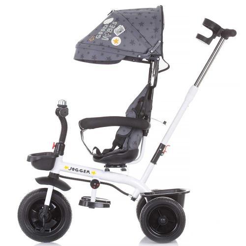 Tricicleta Chipolino Jogger graphite - Triciclete copii -
