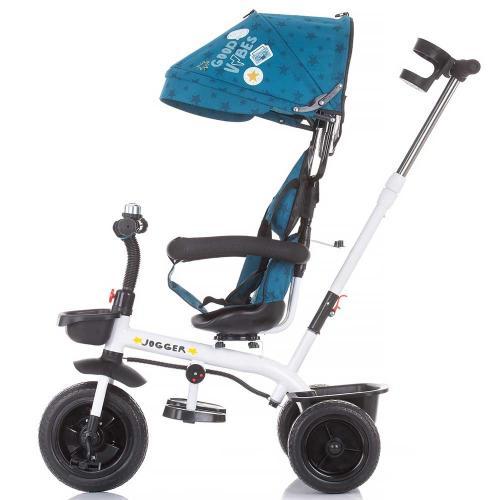 Tricicleta Chipolino Jogger ocean - Triciclete copii -