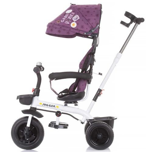 Tricicleta Chipolino Jogger orchid - Triciclete copii -
