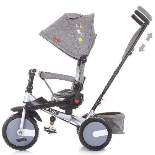 Tricicleta Chipolino Largo graphite - Triciclete copii -