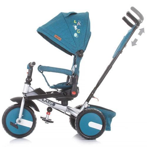 Tricicleta Chipolino Largo ocean - Triciclete copii -