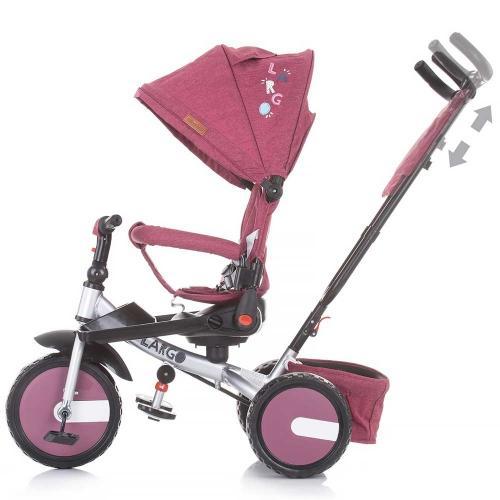 Tricicleta Chipolino Largo orchid - Triciclete copii -