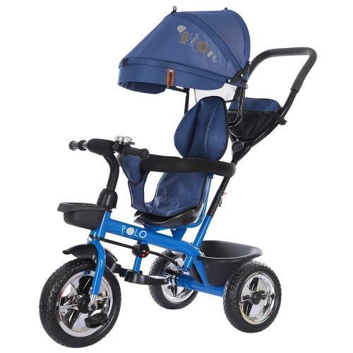 Tricicleta Chipolino Polo denim - Triciclete copii -