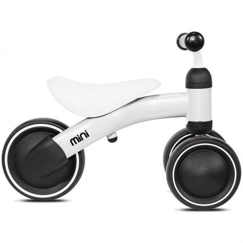 Tricicleta fara pedale Mini Kazam Alb - Vehicule fara pedale -