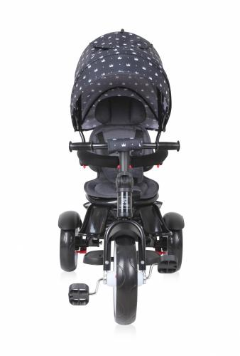 Tricicleta multifunctionala 4 in 1 Neo Black Crowns - Triciclete copii -