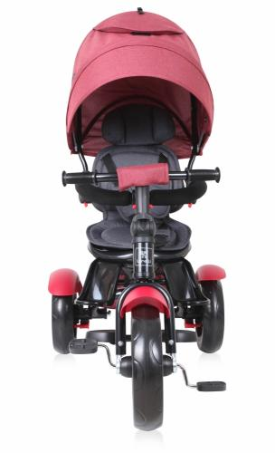Tricicleta multifunctionala 4 in 1 Neo Red Black Luxe - Triciclete copii -