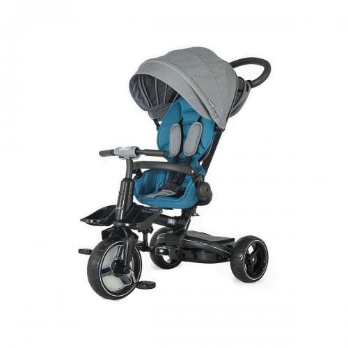 Tricicleta multifunctionala Alto Coccolle - Albastru - Triciclete copii -