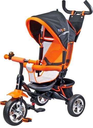Tricicleta pentru copii cu scaun reversibil Toyz Timmy Orange - Triciclete copii -