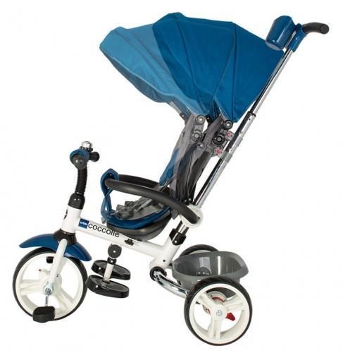 Tricicleta pliabila Coccolle Urbio Blue - Triciclete copii -