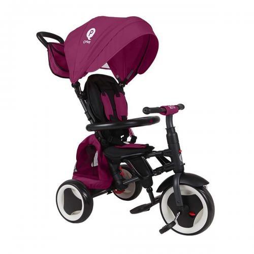 Tricicleta pliabila Qplay Rito Plus - Violet - Triciclete copii -