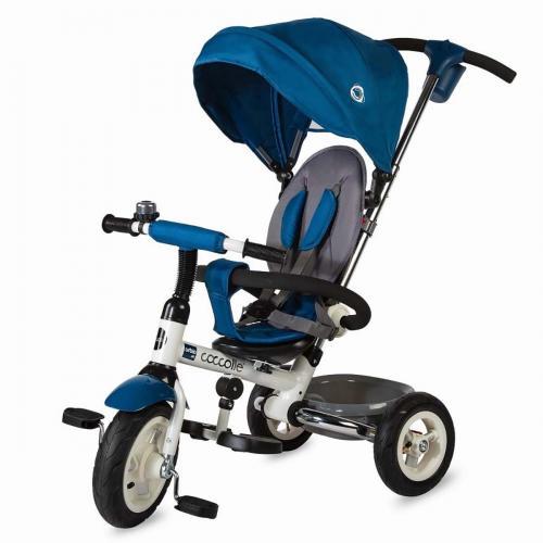 Tricicleta pliabila Urbio Air Coccolle - Albastru - Triciclete copii -