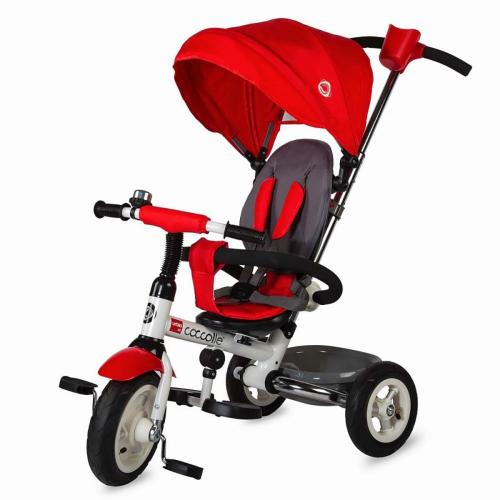 Tricicleta pliabila Urbio Air Coccolle - Rosu - Triciclete copii -