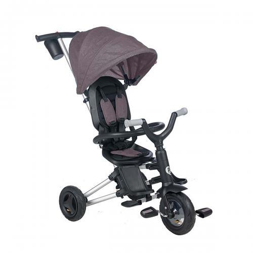 Tricicleta ultrapliabila Qplay Nova Air - Negru - Triciclete copii -